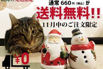 Cattonクリスマスキャンペーン